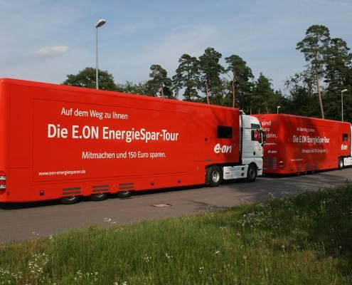 eon promotion trucks
