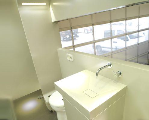 Horsetruck Alexander Schill - bathroom