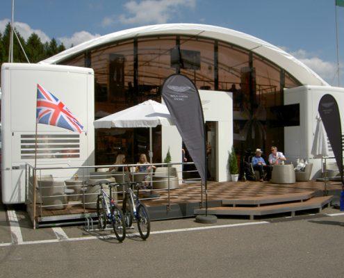 Aston Martin Racing - Hospitality
