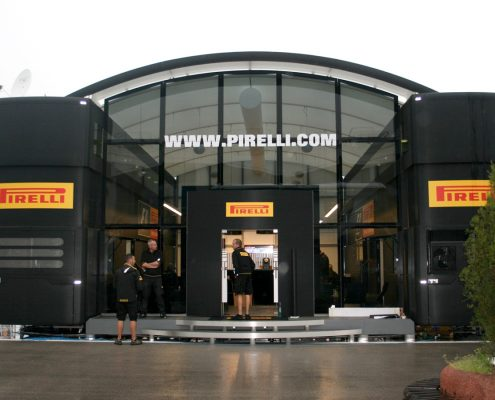 Pirelli Hospitality - Aussenansicht