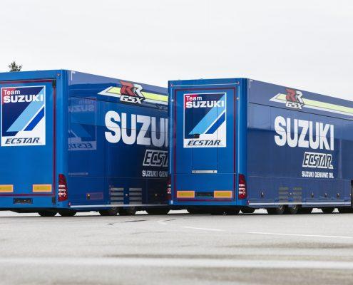 Suzuki Hospitality - Heckansicht