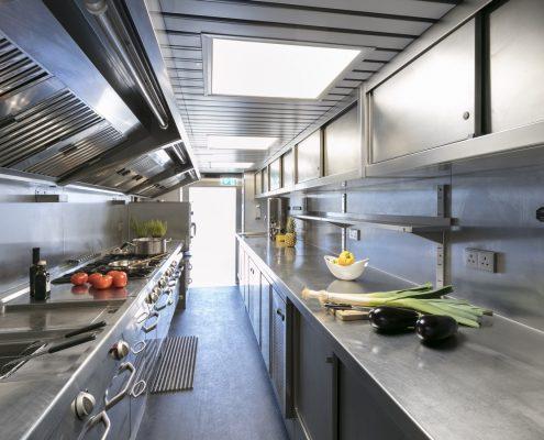 Haas F1 Hospitality - Küche