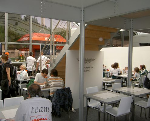 Aston Martin Racing - Hospitality inside