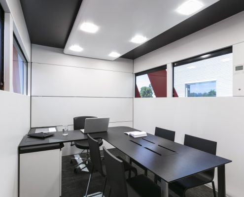 Haas F1 Hospitality - Besprechungsraum