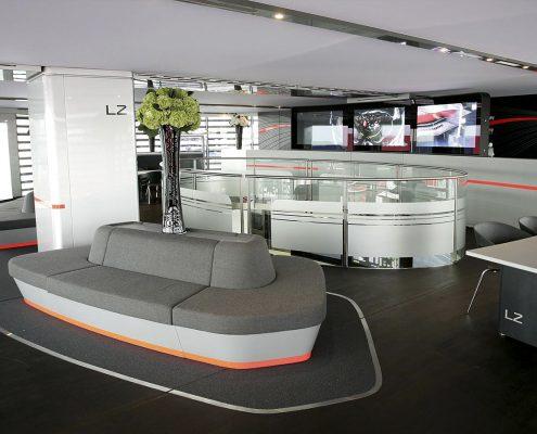 McLaren Hospitality - Innenansicht