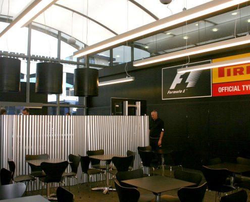 Pirelli Hospitality - ground floor