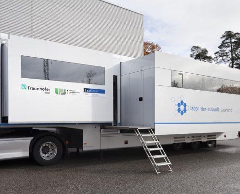 Mobiles Labor Fraunhofer-IBMT