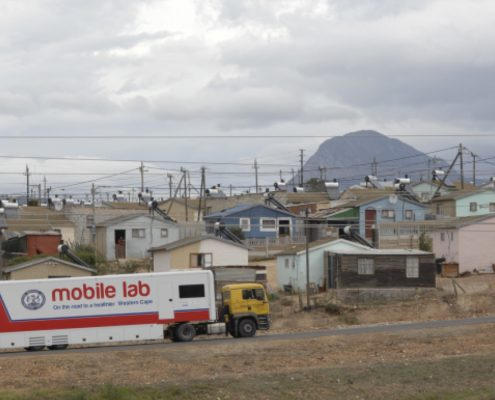 Mobile Labor Fraunhofer IBMT on the road