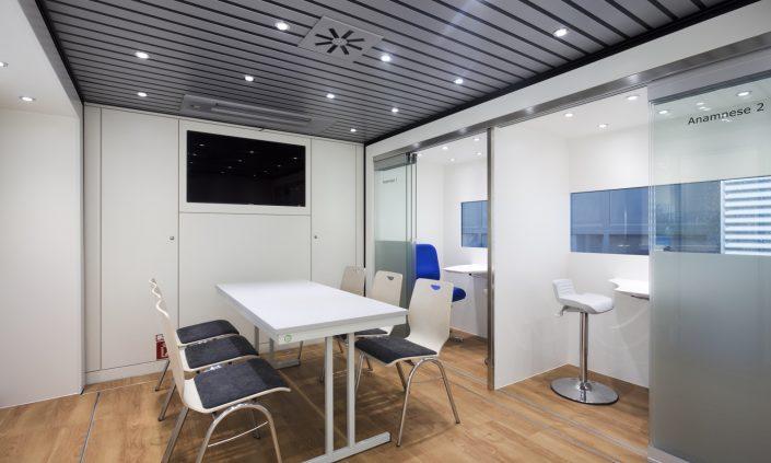Mobiles Labor Fraunhofer - Besprechung