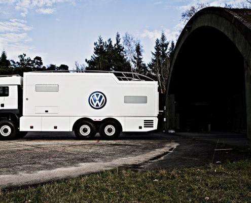 Offroad Wohnmobil VW von Aussen