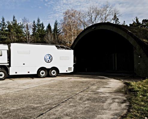 Offroad Wohnmobil VW Motorsport - Aussenansicht
