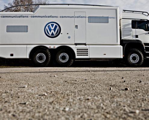 Offroad Wohnmobil VW - Aussenansicht