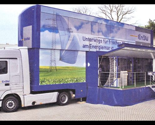 Promotion truck EnBW