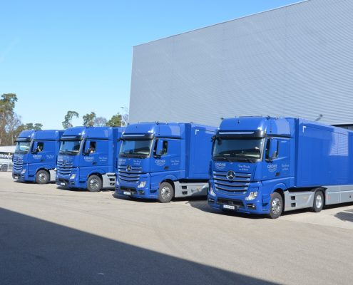 Promotion trucks Grohe