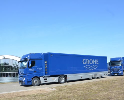 Promotion truck Grohe