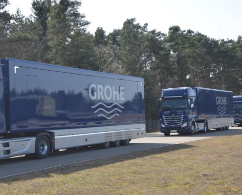 Promotion truck Grohe - Flotte
