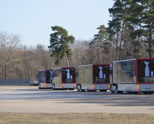 Promotion trucks Grohe - Fahrzeugflotte