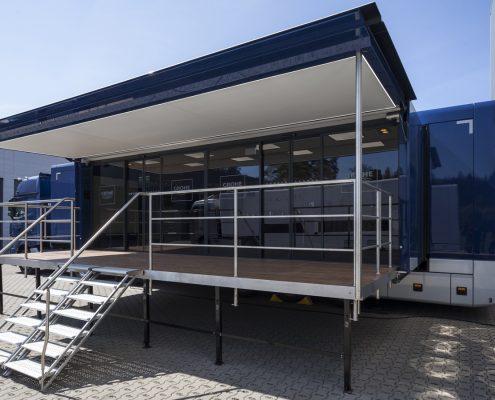 Promotion truck Grohe - Aussenansicht