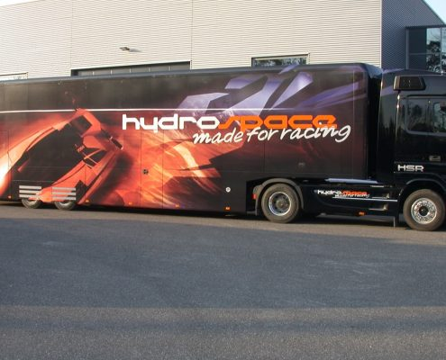 Promotion truck Hydrospace Racing