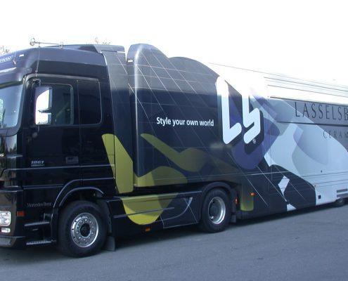 Promotion truck Lasselsberger
