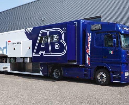 AB Motoracing Racetrailer