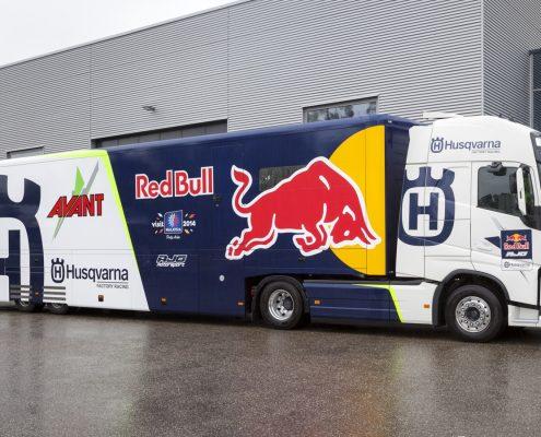 Ajo Motorsport Ltd. Racetrailer