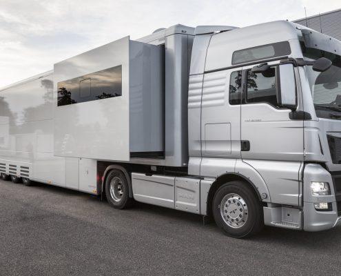 Audi Sport Customer Service Racetrailer