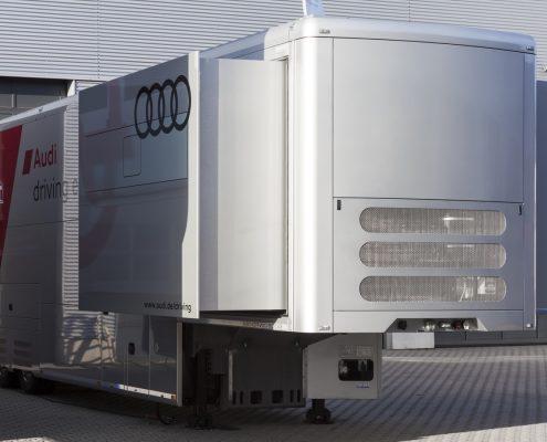 Audi Driving Experience Racetrailer Pop Out