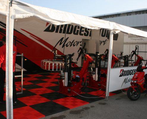 Bridgestone Racetrailer Pop Out