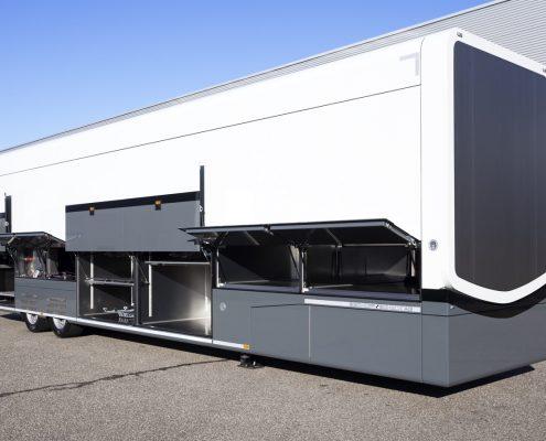 Haas F1 Team Racetrailer