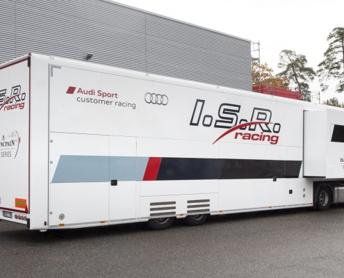 ISR Racing Racetrailer Pop Out - Außenansicht
