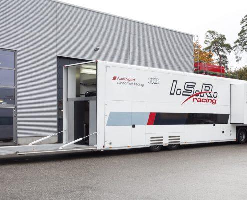 ISR Racing Racetrailer Pop Out - Heck offen