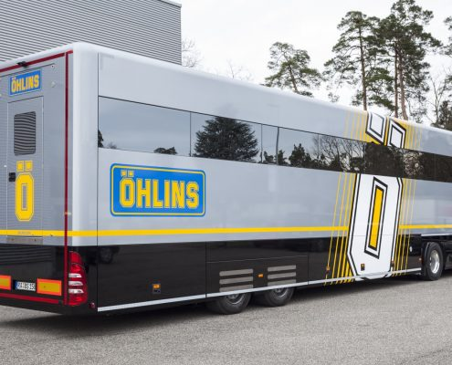 Öhlins Racing AB Racetrailer