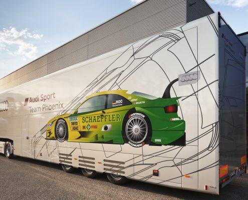 Phoenix Racing - Racetrailer Support Flex
