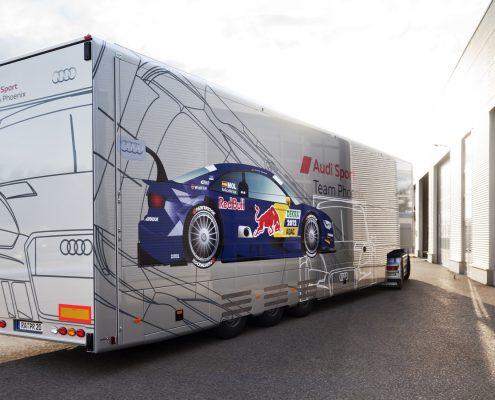Phoenix Racing - Racetrailer Support Flex - Aussenansicht