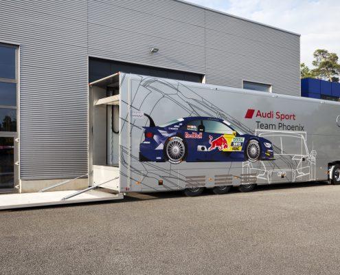 Phoenix Racing - Racetrailer Support Flex - Offene Heck