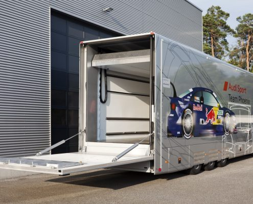 Phoenix Racing - Racetrailer Support Flex - Heckansicht
