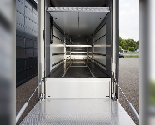 Phoenix Racing - Racetrailer Support Flex - Detailansicht Heck