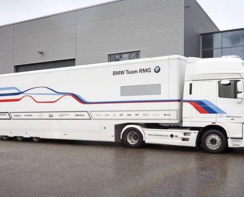 Reinhold Motorsport Racetrailer Support Max - Aussenansicht
