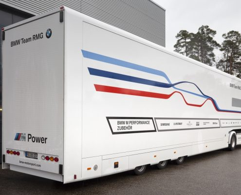 Reinhold Motorsport Racetrailer Support Max - Heckansicht