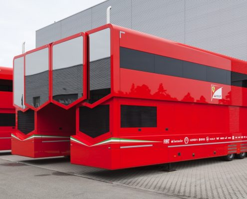 Scuderia Ferrari - Racetrailer TT Pop Up Slider Custom