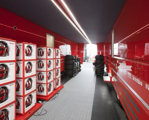 Scuderia Ferrari - Innenansicht