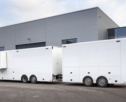 VW Motorsport Racetrailer