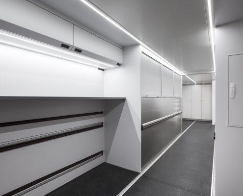 Audi Driving Experience - Racetrailer storage