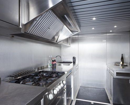 ISR Racing Racetrailer Pop Out - Küche