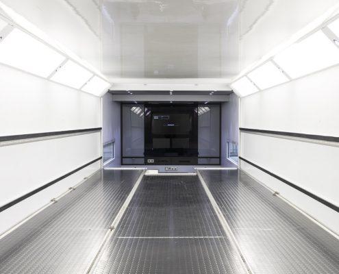 Peugeot Racing Racetrailer - Transportarea