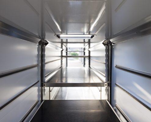 Phoenix Racing - Racetrailer Support Flex - Transportraum