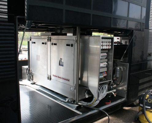 Pirelli Racetrailer - Detailansicht Generator