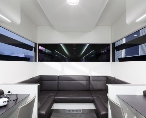 BMW Motorsport Racetrailer Office