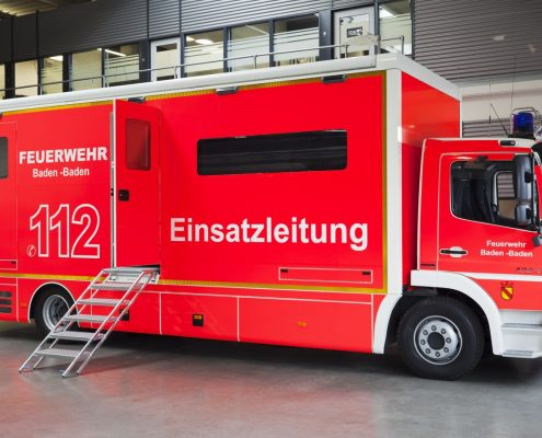 Einsatzleitfahrzeug Feuerwehr Baden-Baden